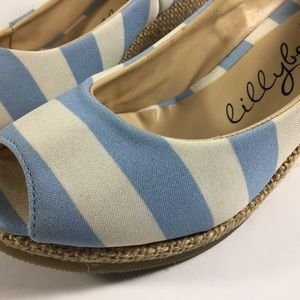 Lillybee Shoes - Lillybee UNC espadrille wedges